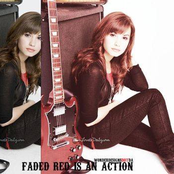 Faded Red Is An Action. by wonderdesigns