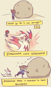 Pkmn - Strength by Uberzers