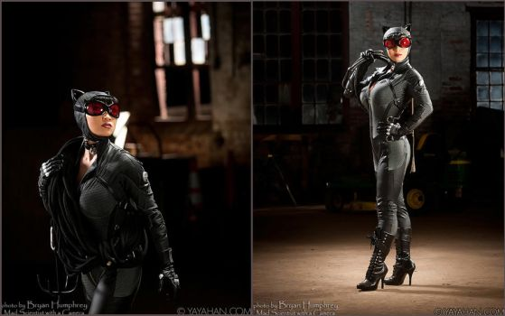 Arkham City Catwoman on the loose by yayacosplay