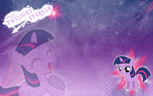 FiM: Filly Twilight Sparkle WP by M24Designs