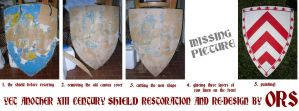 Yet another shield restoration and re-design by enrico-ors-91