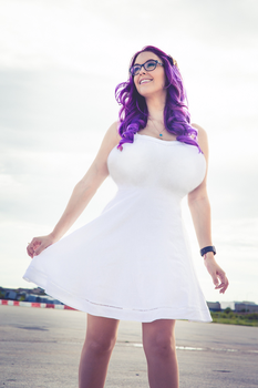 Meg Turney - Breast Expansion by StagMorphs