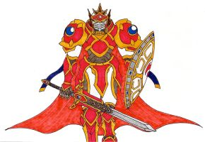 HE T7C: The Red Guardian (Guardian Form) by Jacob-Cross