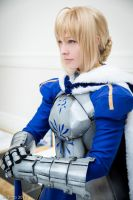 Saber Cosplay: Certain Bonds by ashelikescake