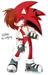 Shay The Hedgehog,New Look:by Chiikalicious by ShayTheHedgehog97