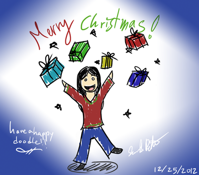 Xmas Doodle by Mahotou