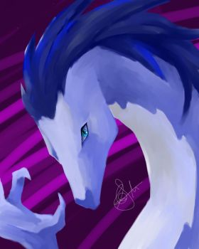Blue Dragon by lily101220