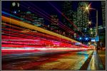 City Lights in Seattle by Mackingster