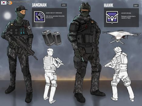 Rainbow 6 Siege Op design(Mock) by artofrussell