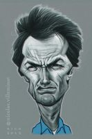 Clint Eastwood :: Escape from Alcatraz by ElectroNic0
