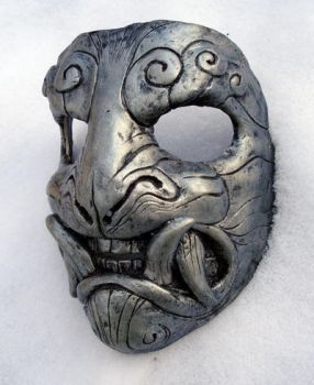 Mask in snow by missmonster