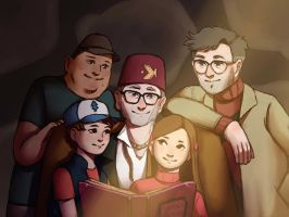 The Pines Family, together at last by alleviathan