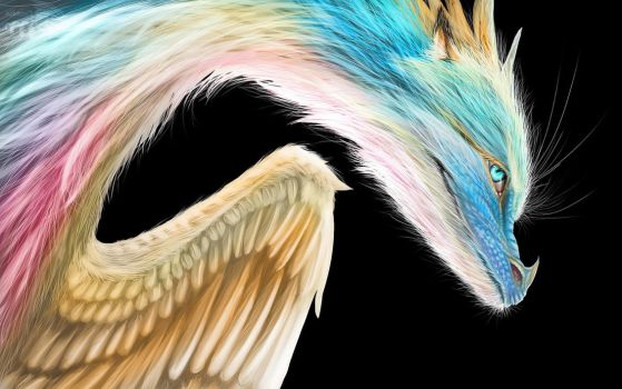 Are We Going? :. Rainbow Dragon by Decadia