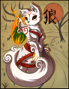 Okami by infinitedge2u