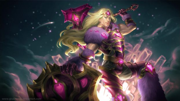 League of Legends: Taric of the Fifth Age by GisAlmeida