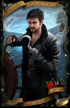 Once Upon A Time - Captain Hook by MelissaFindley