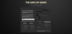 -The Days of Grays- by liliumcruentus