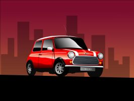 Mini Cooper by ahmednayyer