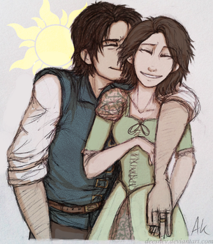 He's Got A Thing For Brunettes by Deesney