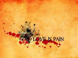 Love is Pain by pincel3d