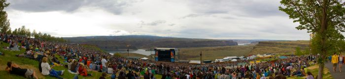 The Gorge Amphitheatre by hypnos