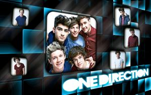 One Direction Wallpaper #9 by MeganL125