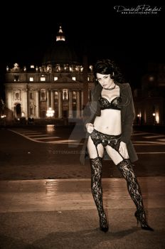 Mistress by the Vatican by OttoMarzo