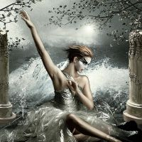 The Swan and the Tempest by vampirekingdom