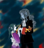 The Count and Haydee by SirLadySketch