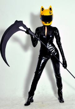 Celty Sturluson: Action Figure by muchiko1125