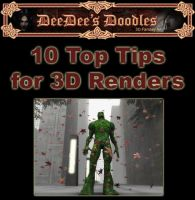 10 Top Tips for 3D Renders by 3D-Fantasy-Art
