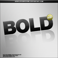 Text Template - BOLD by arnoldisawesome