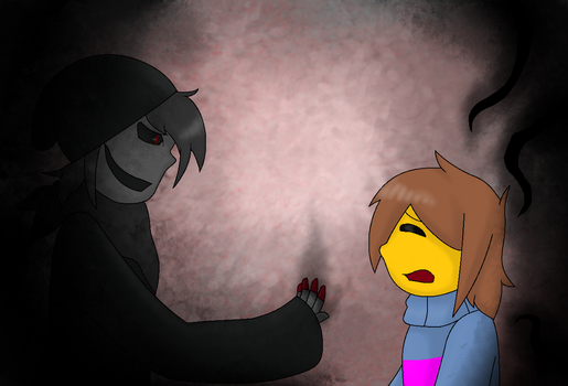 Frisk and the Player by pokesonic100