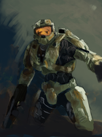 Halo Sketch by HangedFlag