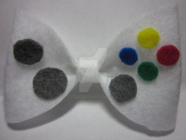 Xbox Controller Hairbow by Darklunax110