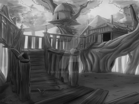 Tree House by daFlique