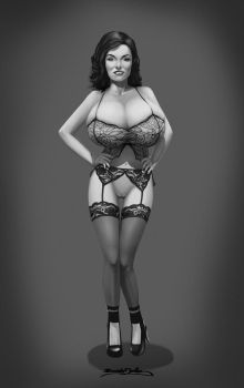 50's pinup Jane Russell by BoobDolLz