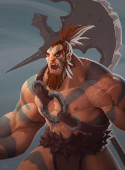 Barbarian by Tokoldi