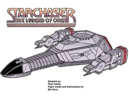 Starchaser paper model by ARMORMAN