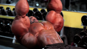 Chest... with extreme biceps by UnitedbigMuscle