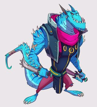 Dino Guy by doingwell