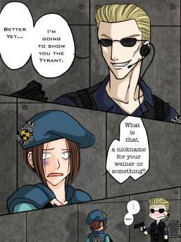 SlayterWesker Contest Entry by Resident-evil-STARS