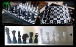Quilled Chess Set by El-Sharra