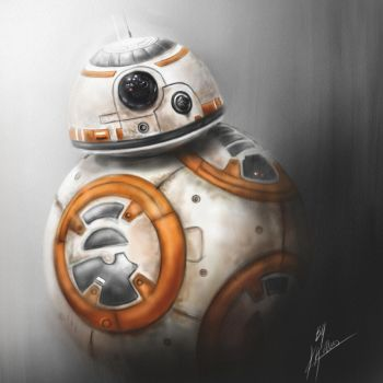 BB8 from Star Wars: The Force Awakens by Pandoras-Encore
