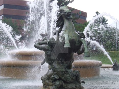 Power of the Fountain. by Tchfx