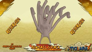 Naruto - Ten Tails PACK FOR XPS!! by MVegeta