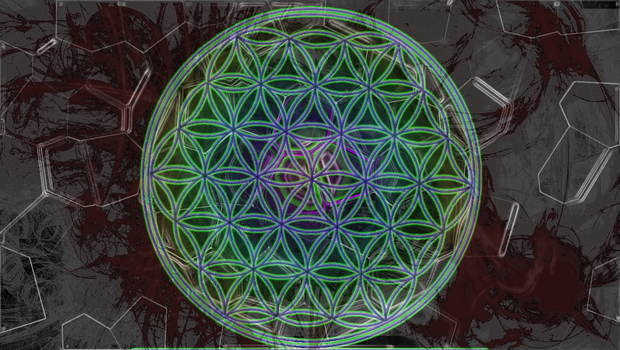 The Flower of Life by xD-Chuckeh