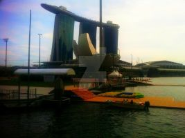 Marina Bay Sands' 2011 by Plastic-Dolls