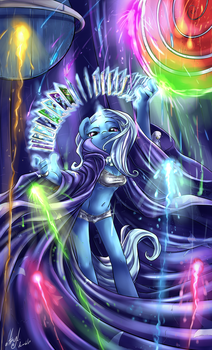 The Great and Powerful Trixie by atryl