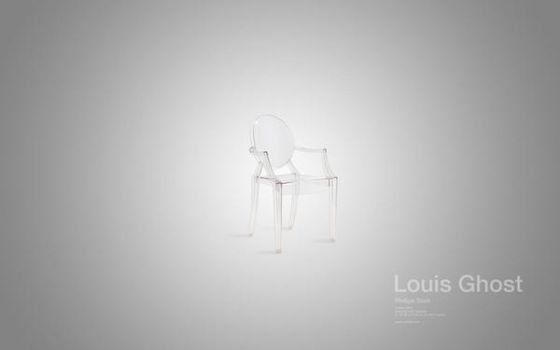 Louis Ghost Chair by sub88